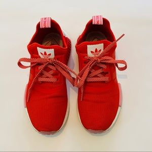 ADIDAS NMD RED + PINK